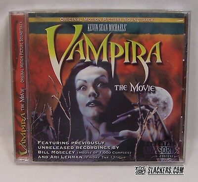 1950's Halloween Music (Vampira: The Movie SOUNDTRACK Halloween SEALED 1950's B-Movie ED WOOD OST)