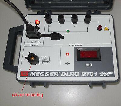Avo Megger Dlro Bt51 Milliohm Meter