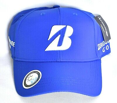 f73e5394803c7 BRIDGESTONE GOLF Tour B Performance Adjustable Hat Cap Black One Size  NEW
