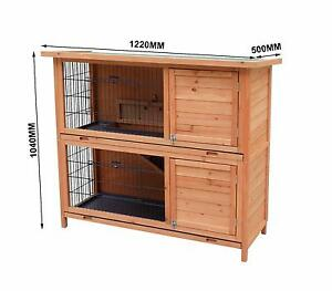 X-LARGE DOUBLE STOREY RABBIT HUTCH , GUINEA PIG HUTCH FERRET Auburn Auburn Area Preview