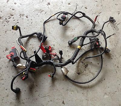 genuine fiat 500 1.2 petrol engine wiring loom 55209380