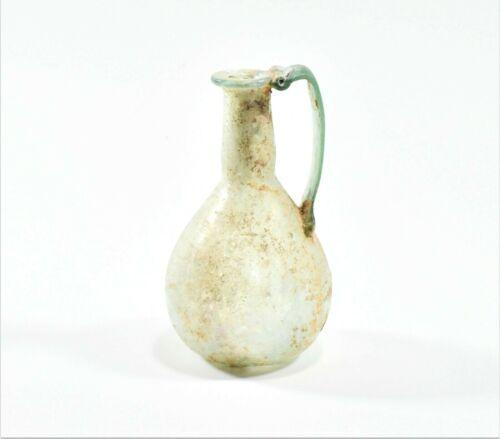 RARE ITEMS A Roman Wide Handled Glass Jug