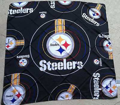 Pittsburgh Steelers Black 34 in Scarf,  Bandana, Belt or Table Cloth for Mancave
