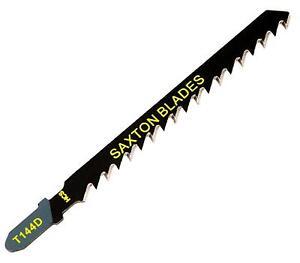 10x Saxton Jigsaw Blades Wood T144D fit Bosch, Dewalt, Hitachi, Makita, Festool