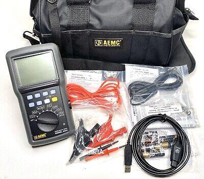 Aemc 2130.90 8220 Single-phase Ac Dc Power Quality Analyzer