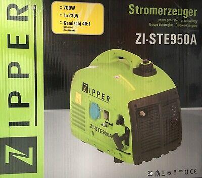 ZIPPER ZI-STE950A Stromerzeuger Stromaggregat 2,0 PS 700 W Notstromaggregat NEU