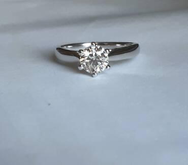 1 ct diamond ring - Valued $10306