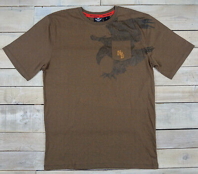 Enzym Wash Tee (New HARLEY DAVIDSON Motorcycles Schematic Eagle Enzyme Wash Pocket Tee Size M)
