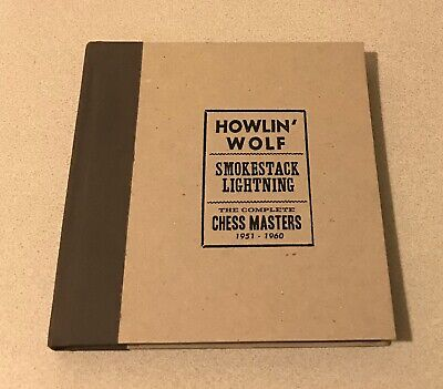 HOWLIN'' WOLF SMOKESTACK LIGHTNING COMPLETE CHESS MASTERS 1951-60 4 CD BOOK SET