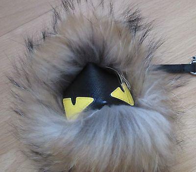 nhänger Fell Pelz Fuchs 24 cm Anhänger Charm Braun  (Monster Pelz Fell)