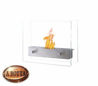 Caminetto da Tavolo a Bioetanolo QLIMA FFB 106 930 Watt Decorativo 35x28 cm