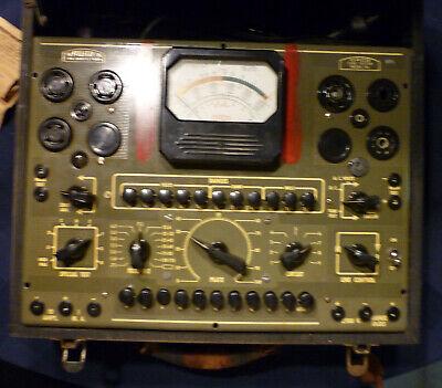 Vintage Rare Dayton Acme Co. Daco 106 Vacuum Tube Tester 1950s Or Earlier