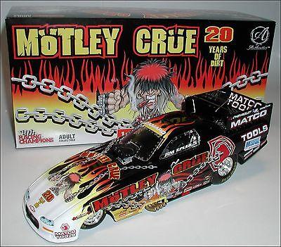 COOL 1/24 SCALE MOTLEY CRUE CHEVY CAMARO NHRA FUNNY CAR RACING DIECAST REPLICA