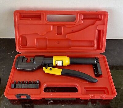 Central Hydraulics 66150 Hydraulic Wire Crimping Tool G109. Great Condition