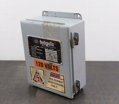 Hoffman Electrical Enclosure A1008ch 10x08x4 Connection Box Electric Cabinet