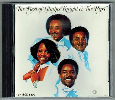 Best Of Gladys Knight   The Pips   Buddah Cd   16 Songs   Midnight Train    Etc