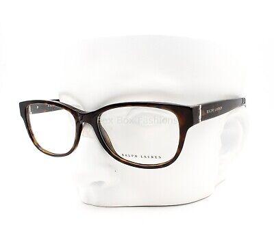 Ralph Lauren RL 6138 5003 Eyeglasses Frames Glasses Brown Tortoise 51-16-140