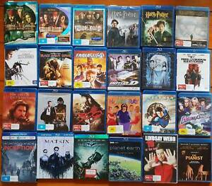 Blu Ray Movies Collection See Available Titles in Description