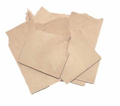 Vegetable Veg Tan Tooling Cowhide Leather Scrap Bag 2 Pounds Remnants 8-9 oz