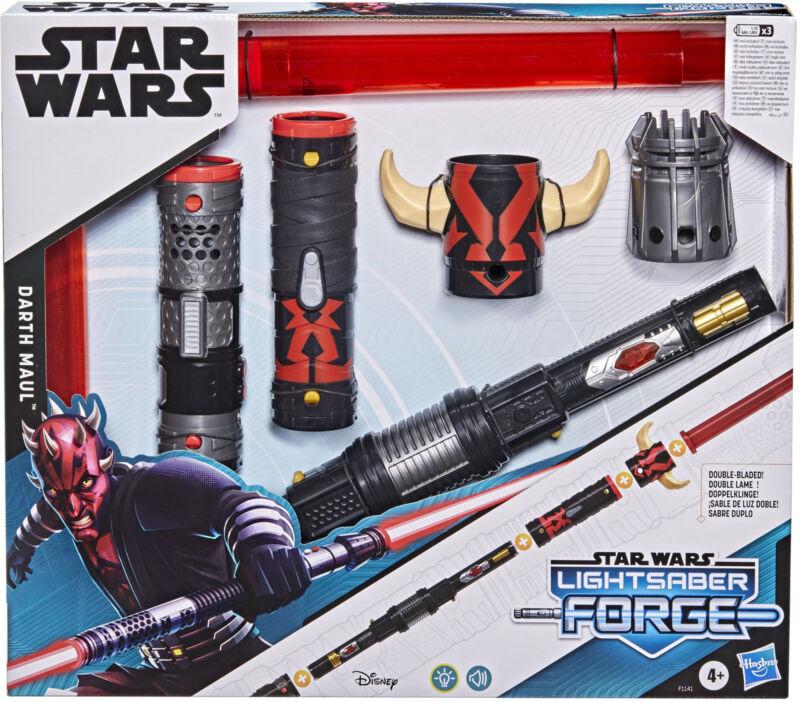 Star Wars Lightsaber Forge Darth Maul Electronic Lightsaber