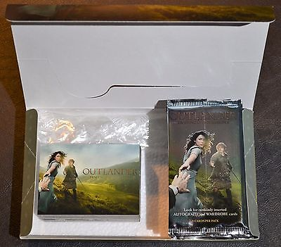 Cryptozoic Outlander Season 1 Complete Base Set, Box, and Wrappers Trading Cards