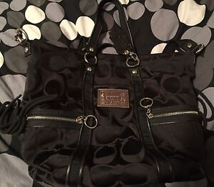 Large authentic coach purse