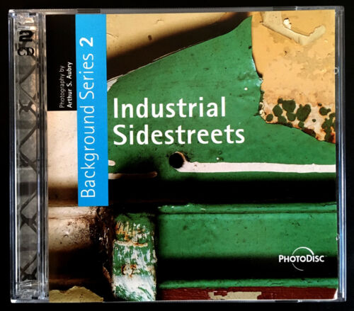 PhotoDisc - Industrial Sidestreets - Background Series 2 - TWO Stock PhotosDisks
