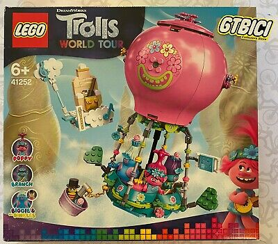 LEGO TROLLS WORLD TOUR `` POPPY'S HOT AIR BALLOON ´´ Ref 41252...
