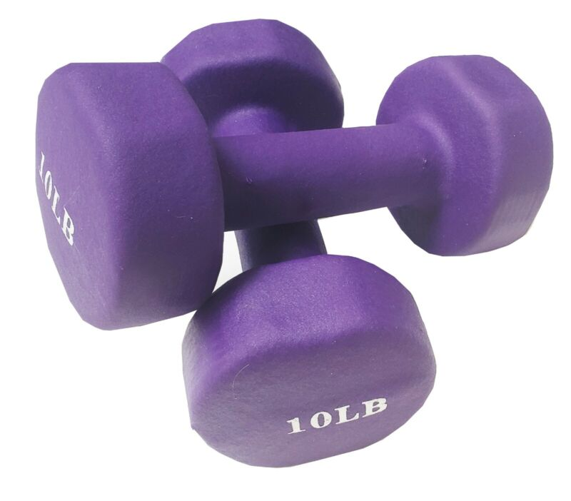 Dumbbells 10 lbs, Set of two