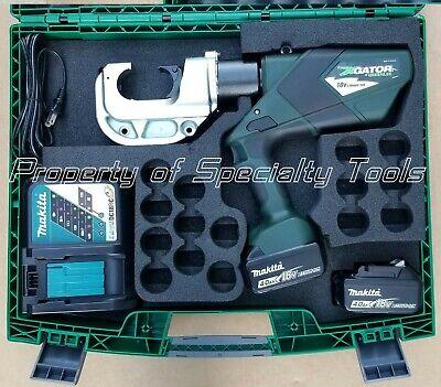 Greenlee Gator Ek1240lx Battery Hydraulic Crimper U Die Ek1240 Crimping Tool New
