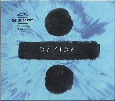 Ed Sheeran - Divide ÷ [Deluxe CD] [Slipcase] +4 tracks Brand New & Sealed