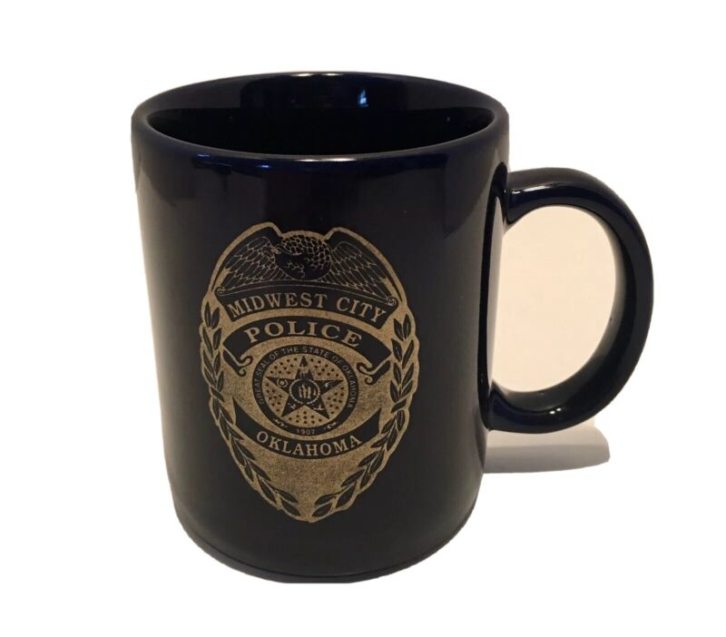 Midwest City Oklahoma Police Department Coffee Cup Mug.