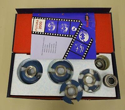 2000 Futura Freud Carbide Shaper Cutter Set 1-14 Bore