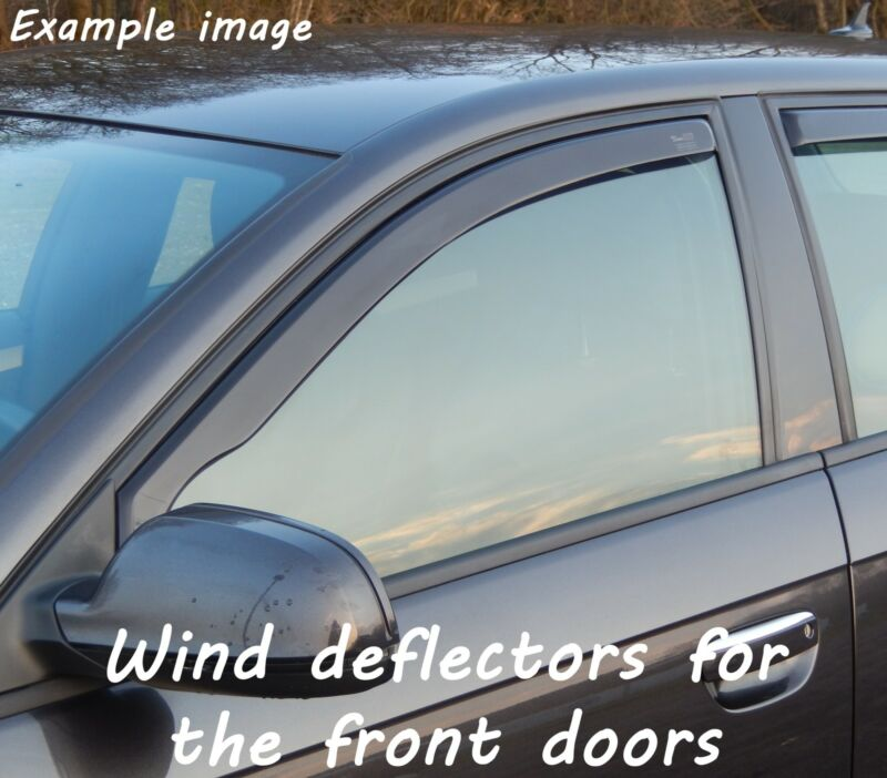 Wind deflectors for Lexus LS 460 USF40 2006- Sedan Saloon 4doors front