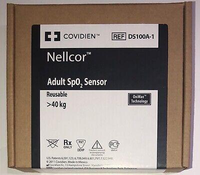 Covidien Nellcor Ds100a-1 Adult Spo2 Sensor-original W Packing Same Day Shipping