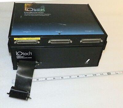 Iotech Daqbook200 16bit Data Acquisistion System W Enhanced Parallel Port