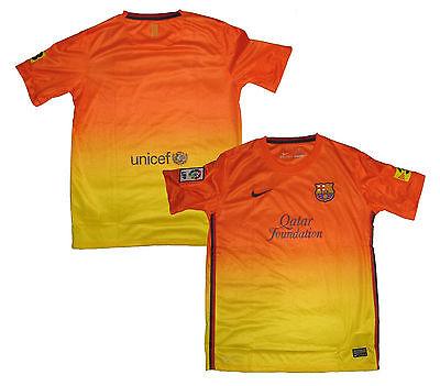 FC Barcelona Trikot Kindergröße Away 2012/13 Nike XS Boys