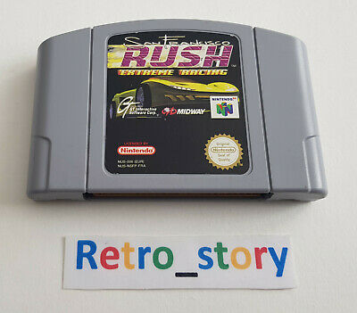 Nintendo 64 N64 - Rush Extreme Racing San Francisco - PAL - FRA