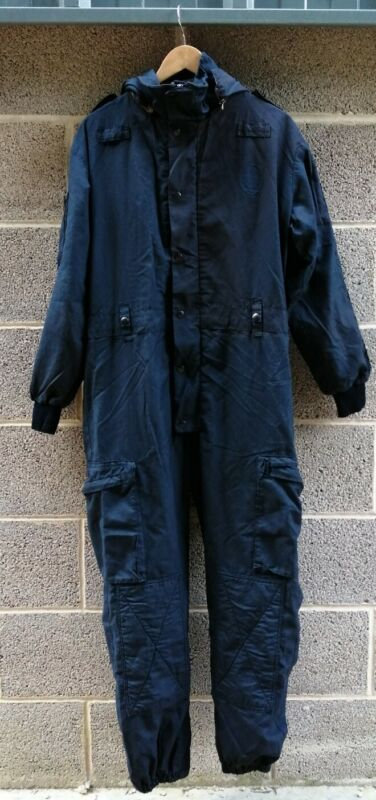 Genuine Ex Police Derby UniTex Coveralls Riot Tactical Airsoft Fishing Theatre