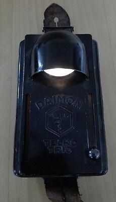 Originale DAIMON Taschenlampe 2 WK vor 1945 Flachbatterie