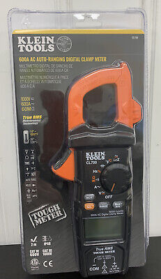 Klein Tools 600a Ac Auto-ranging Digital Clamp Meter - Cl700 New
