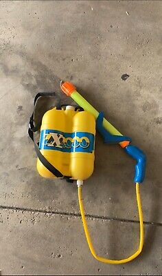 Water Gun With Backpack (Vintage 90's ZX-2000 Ultimate Water Gun Backpack Super)