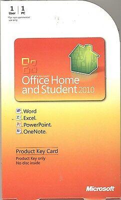Microsoft Office для Дома и учебы 2010 Продукт Ключ-Карта PKC