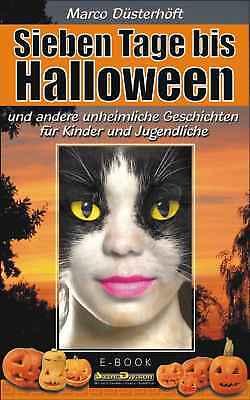 Download Ebook / Sieben Tage bis Halloween - unheimliche Geschichten für Kinder