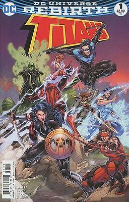 TITANS #1 REBIRTH NEAR MINT DC COMICS 7/27/16