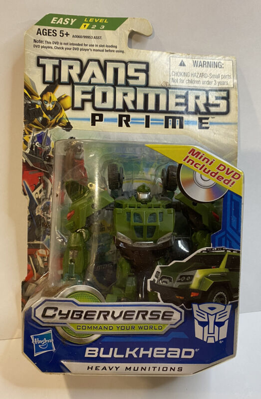 Transformers Prime Cyberverse Commander Class Bulkhead Action Figure New