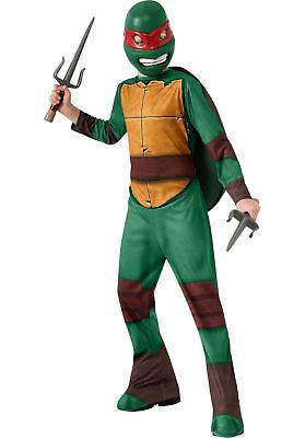 Boys Teenage Mutant Ninja Turtles Complete Costume Raphael Sz L Halloween TMNT](Teenage Mutant Ninja Turtle Raphael Halloween Costume)