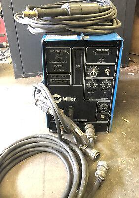Miller Xr Push Pull Aluminum Mig Welder Extended Reach Wire Feeder Xr-15a Gun