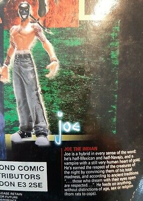 1999 Joe The Indian Humberto Ramos Action Figure Crimson