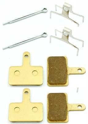 2 pares de plaquetas de freno SHIMANO BR-M365,M447 M395,M446 M515 semi metal